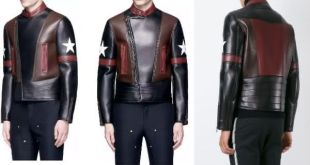 Givenchy star Patch Leather Jacket entre as jaquetas mais caras do mundo