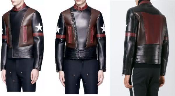 Givenchy star Patch Leather Jacket entre as jaquetas mais caras do mundo