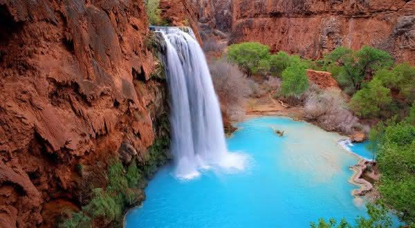 Havasu Falls entre as cachoeiras mais bonitas do mundo