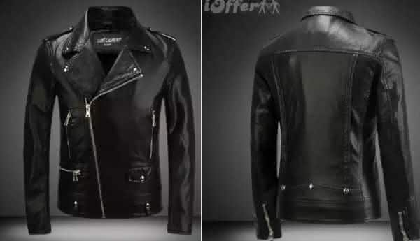 Leather bomber Balmain entre as jaquetas mais caras do mundo