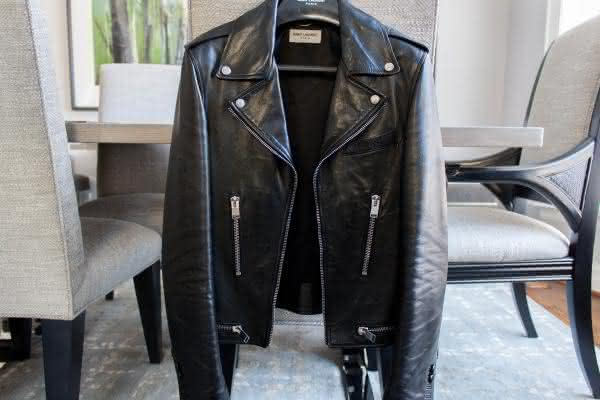 Saint Laurent Classic Motorcycle Jacket entre as jaquetas mais caras do mundo