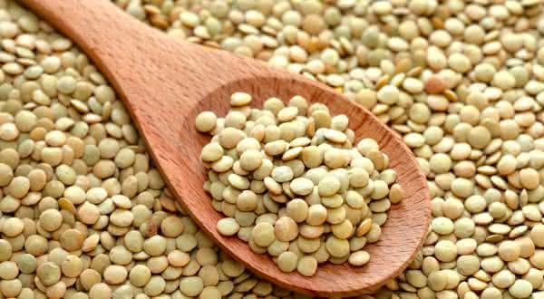 lentilha entre os alimentos ricos em fibras