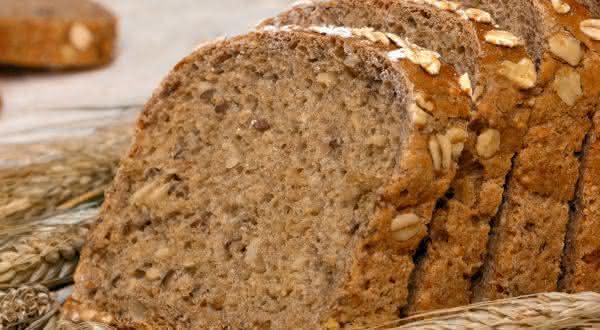 pao Integral entre os alimentos ricos em fibras
