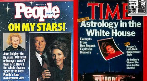 reagan entre os casos que podem provar que a astrologia é real
