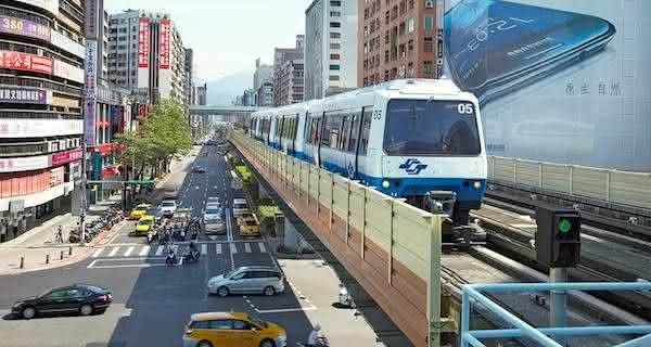 taipei entre as cidades com os melhores sistemas de transporte publico do mundo