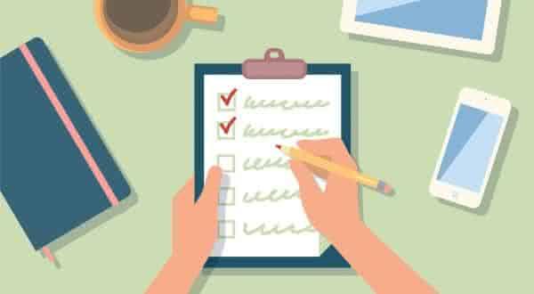 tarefas entre os tipos de lista para manter se quiser ser bem sucedido