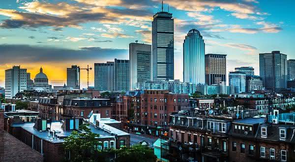 Boston Massachusetts entre as cidades mais ricas do mundo