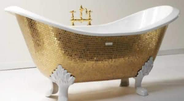 Golden Bathtub entre as banheiras mais caras do mundo