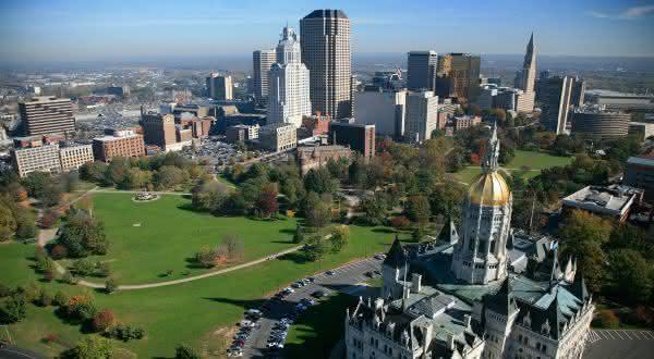 Hartford Connecticut entre as cidades mais ricas do mundo