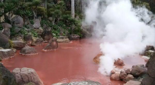 Hells of Beppu entre os portais para o inferno que você pode visitar