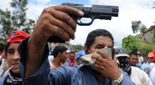 honduras entre os paises mais faceis de comprar uma arma de fogo