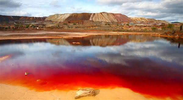 rio tinto entre os lugares com as aguas mais contaminadas do mundo