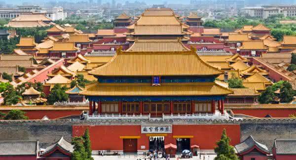 Cidade Proibida entre os maiores palacios do mundo