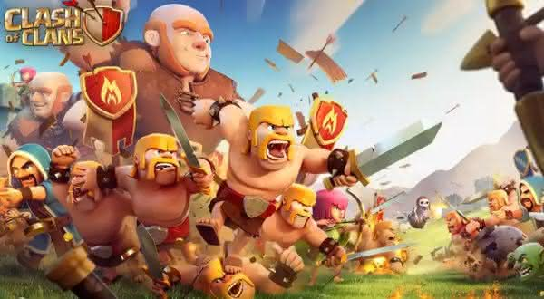 Clash of clans entre os jogos de celular de maior sucesso de todos os tempos
