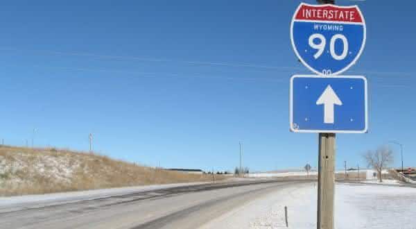 Interstate 90 entre as estradas mais longas do mundo