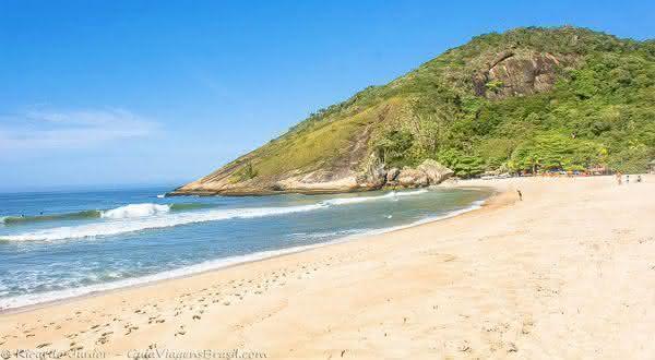 Praia Grumari entre as melhores praias do rio de janeiro