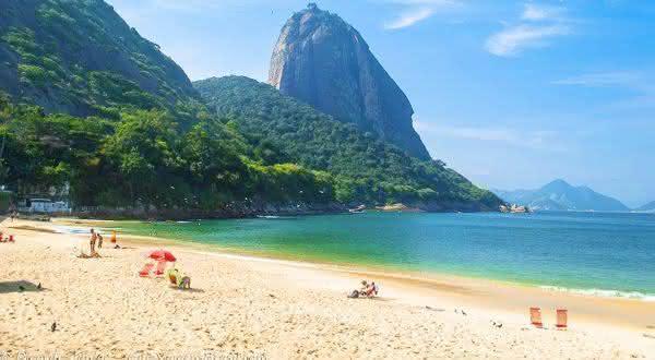 Praia Vermelha entre as melhores praias do rio de janeiro