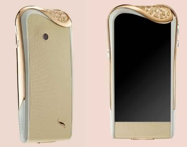 Savelli Champagne Diamond entre os celulares android mais caros do mundo