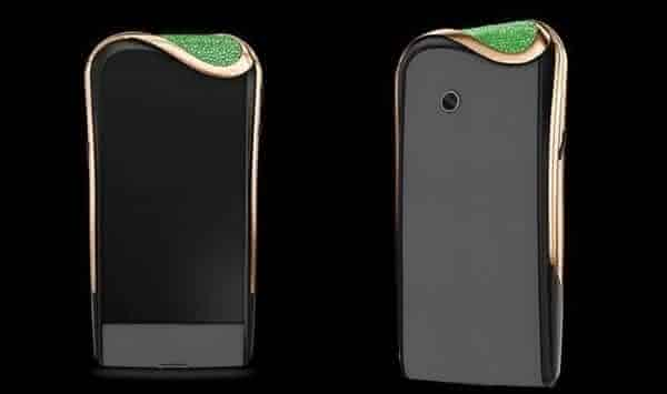 Savelli Emerald Night entre os smartphones android mais caros do mundo