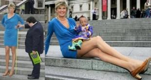 Svetlana Pankratova entre as mulheres com as pernas mais longas do mundo