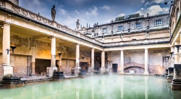 Termas Romanas de Bath entre as maravilhas do mundo