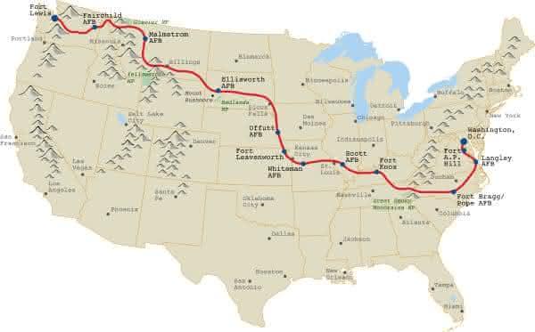 US Route 20 entre as estradas mais longas do mundo