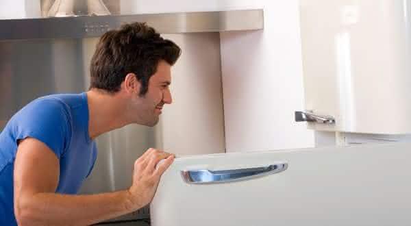 dentro da geladeira entre os lugares seguros para esconder objetos de valor em sua casa