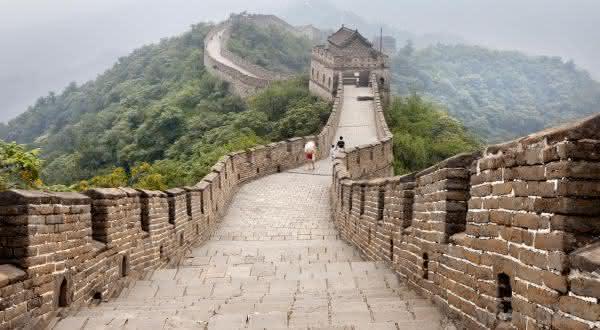 grande muralha da china entre as maravilhas do mundo
