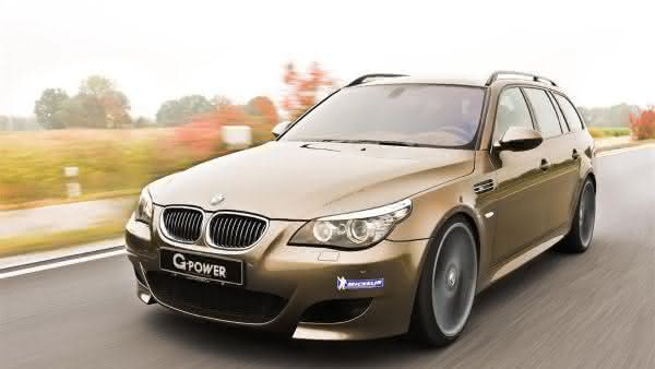BMW M5 TOURING G-POWER HURRICANE RR entre os carros mais caros da bmw