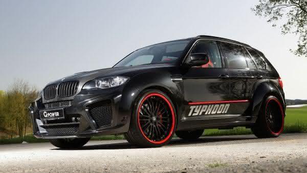 BMW X5M G-POWER TYPHOON entre os carros mais caros da bmw