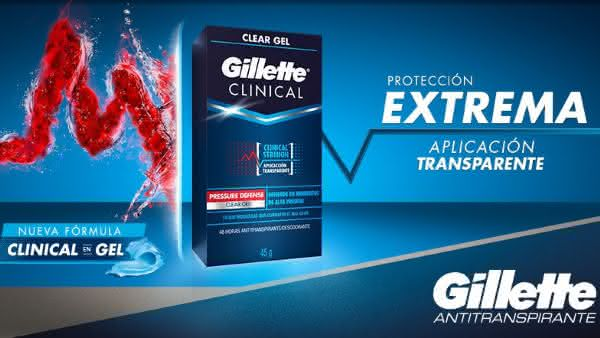 Gillette Clinical Strength entre os desodorantes mais caros do mundo