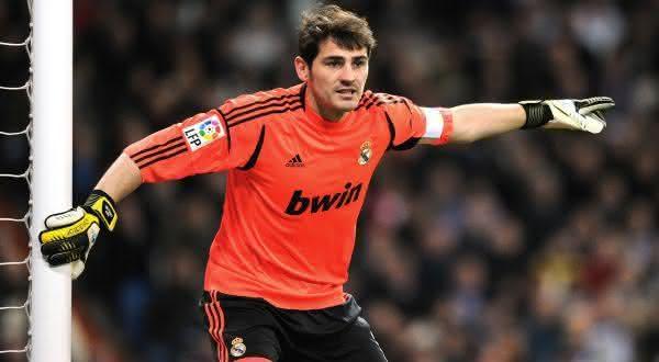 Iker Casillas entre os maiores jogadores do Real Madrid de todos os tempos