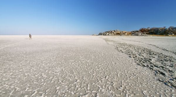 Makgadikgadi Pan entre os desertos de sal mais incriveis do mundo
