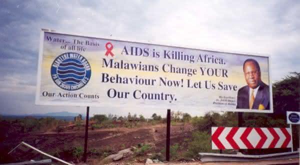 Malawi entre os paises mais afetados por HIV AIDS no mundo