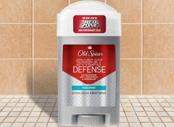 Old Spice Sweat Defense entre os desodorantes mais caros do mundo