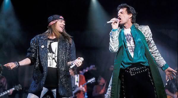 ameaca desistir de abrir entre as coisas que voce nao sabia sobre Guns N Roses