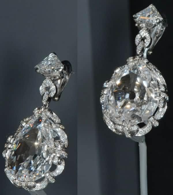 brincos de diamante de maria antonieta entre os brincos mais caros do mundo