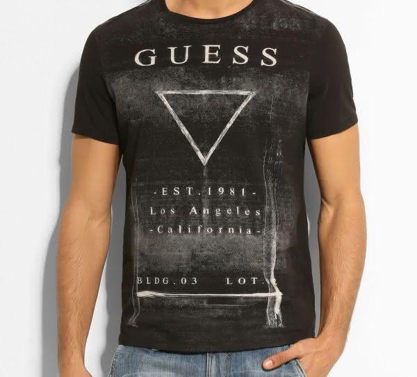 guess entre as marcas de camisetas mais caras do mundo