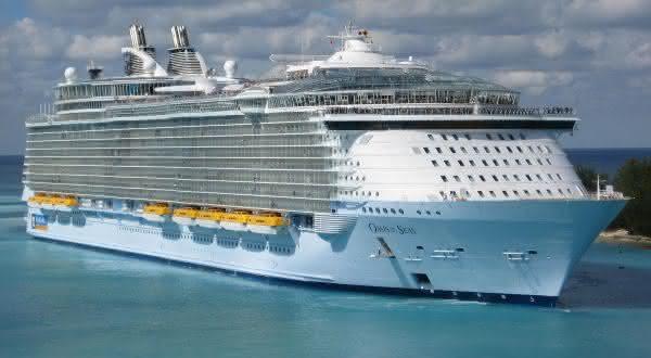 oasis of the Seas 2 entre os navios de cruzeiros mais caros do mundo