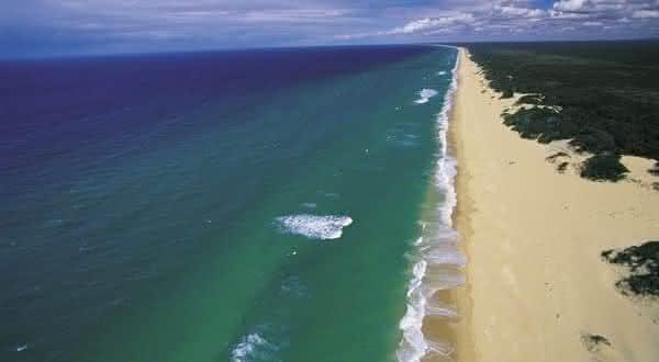 90 Mile Beach australia entre as praias mais longas do mundo