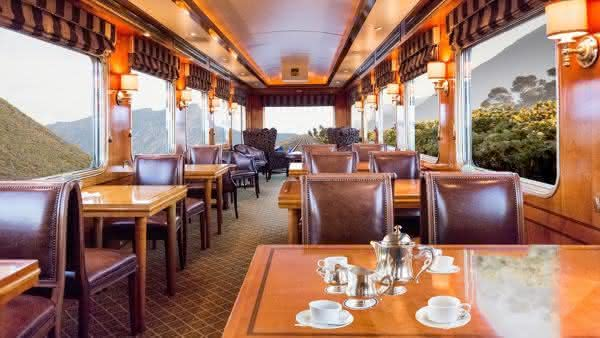 Blue Train entre os trens mais luxuosos do mundo