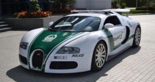 Bugatti Veyron entre os carros de policia mais caros do mundo