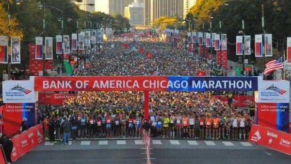 Chicago entre as maratonas com os melhores premios do mundo