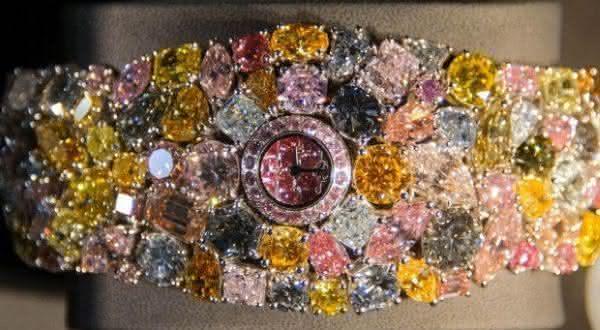 Chopard 201-Carat Watch entre as joias mais caras do mundo