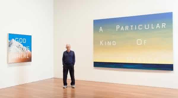 Ed Ruscha entre os melhores pintores do mundo atualmente