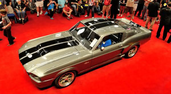 Eleanor Mustang Hero Car 1967 entre os carros da FORD mais caros do mundo