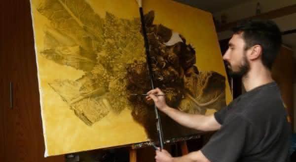 Emanuele Dascanio entre os melhores pintores do mundo atualmente