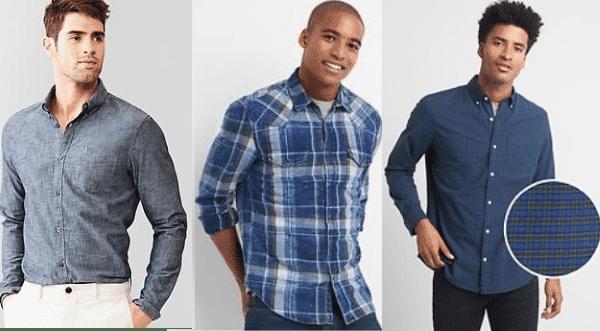 Gap entre as marcas de camisas masculinas mais vendidas do mundo