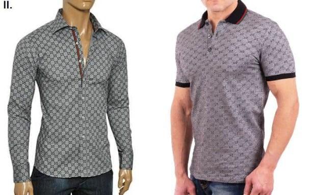 Gucci entre as marcas de camisas masculinas mais vendidas do mundo