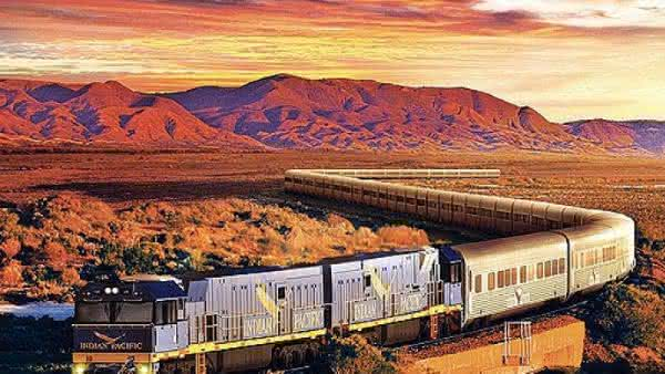 Indian Pacific 2 entre os trens mais luxuosos do mundo